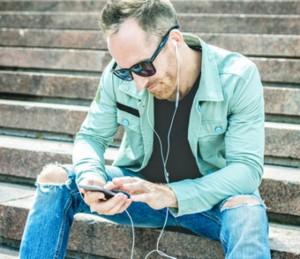 radio - oorfoon luisteraars